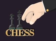 Concepteur du jeu d'échecs illustration de vecteur