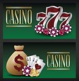 Concepteur du jeu de casino Illustration Stock