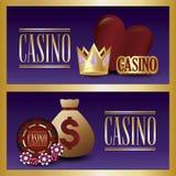 Concepteur du jeu de casino Illustration Libre de Droits