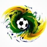 Concepteur du jeu du football illustration libre de droits