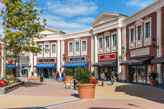 Concepteur Outlet de McArthurGlen Photos libres de droits