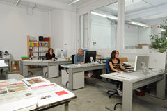 Concepteurs au travail Photos libres de droits