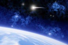 Комета Ison иллюстрация вектора