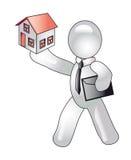Conceptie van hypotheek royalty-vrije illustratie