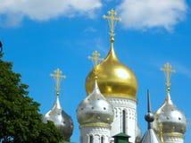 Conceptieklooster in Moskou fragment royalty-vrije stock afbeeldingen