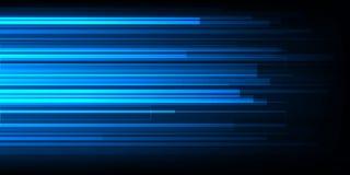 Conception à grande vitesse de mouvement De pointe Fond abstrait de technologie Illustration de vecteur Photo stock