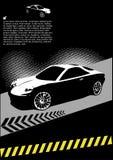 Conception à grande vitesse de véhicule de sport Photos libres de droits