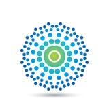 Conception élégante abstraite de vecteur d'icône de logo de fleur Symbole de la meilleure qualité créatif universel Signe gracieu illustration libre de droits