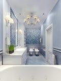 Conception élégante de salle de bains de la Provence Image stock