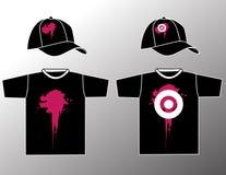 Conception élégante de T-shirt Photos libres de droits