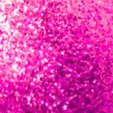 Conception étonnante de descripteur sur le scintillement rose. ENV 8 illustration de vecteur