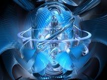Conception 3D abstraite illustration stock