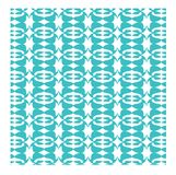 Conception abstraite bleue et blanche Image libre de droits