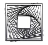 Conception abstraite carrée Image libre de droits