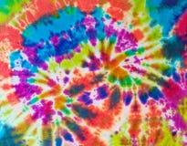 Conception abstraite colorée de modèle de colorant de lien dans des couleurs multiples Images stock