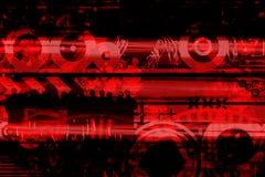 Conception abstraite contemporaine Image libre de droits