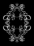 Conception abstraite décorative de Digitals - fond circulaire de trame Photos libres de droits