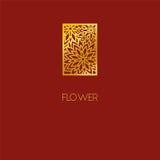 Conception abstraite d'icône de logo de fleur Bouquet élégant des fleurs Photographie stock libre de droits