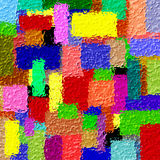conception abstraite de 3D Colorfull Photos stock