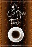Conception abstraite de café illustration libre de droits
