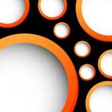 Conception abstraite de cercle Images stock