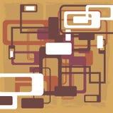 Conception abstraite de configuration Images stock