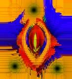 Conception abstraite de couleur Graphiques abstraits Illustration Stock
