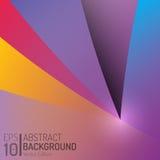 Conception abstraite de fond de couleur Éléments de vecteur Illustration créative de papier peint EPS10 Photos stock