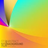 Conception abstraite de fond de couleur Éléments de vecteur Illustration créative de papier peint EPS10 Photographie stock
