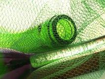 Conception abstraite de fond de verrerie de vin Image libre de droits