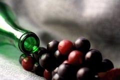 Conception abstraite de fond de verrerie de vin Image stock