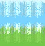 Conception abstraite de fond de vert bleu Images libres de droits
