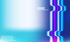 Conception abstraite de fond de gradient pour des produits de bannière ou d'impression de Web Illustration de Vecteur