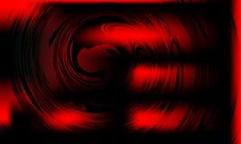 Conception abstraite de vecteur de fond de tache floue rouge et noire, fond ombragé brouillé coloré illustration de vecteur