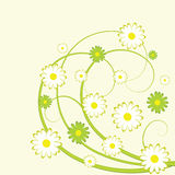 conception abstraite florale illustration de vecteur