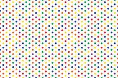 Conception abstraite sans couture de fond de couleur multi de modèle de cercle illustration de vecteur