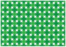 Conception abstraite verte de courbe Photos libres de droits