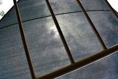 Conception architecturale de construction de Grey Abstract Photo stock