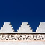 Conception architecturale de Morrocan Photographie stock