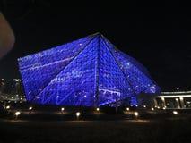 Conception architecturale de théâtre de Shenyang, en verre et en acier moderne, bâtiment photos stock