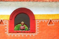Conception architecturale indienne traditionnelle images libres de droits