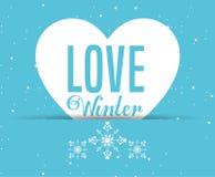 Conception bienvenue d'hiver Photographie stock