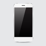 Conception blanche de vecteur de smartphone Photos stock