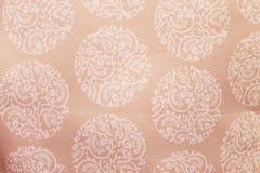 Conception blanche sur le fond rose de texture Images libres de droits
