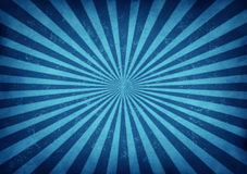 Conception bleue d'éclat d'étoile de cru Images stock