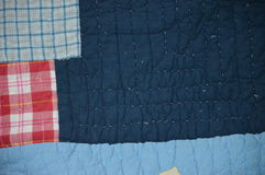 Conception bleue de tissu Photo libre de droits