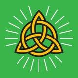 Conception celtique de vecteur de noeud d'infini illustration libre de droits