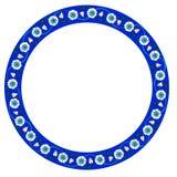 Conception circulaire anatolienne turque de cadre illustration de vecteur