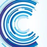 Conception circulaire technique illustration de vecteur