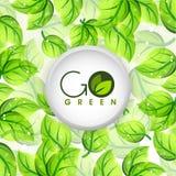 Conception collante pour le vert Go Photographie stock libre de droits
